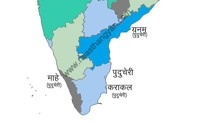 india puduchari map